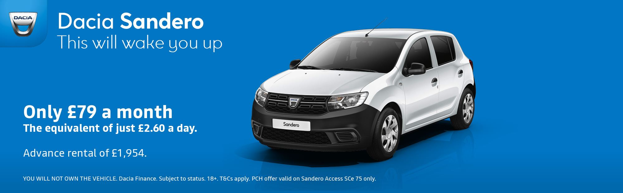 Sandero Contract Hire Offer