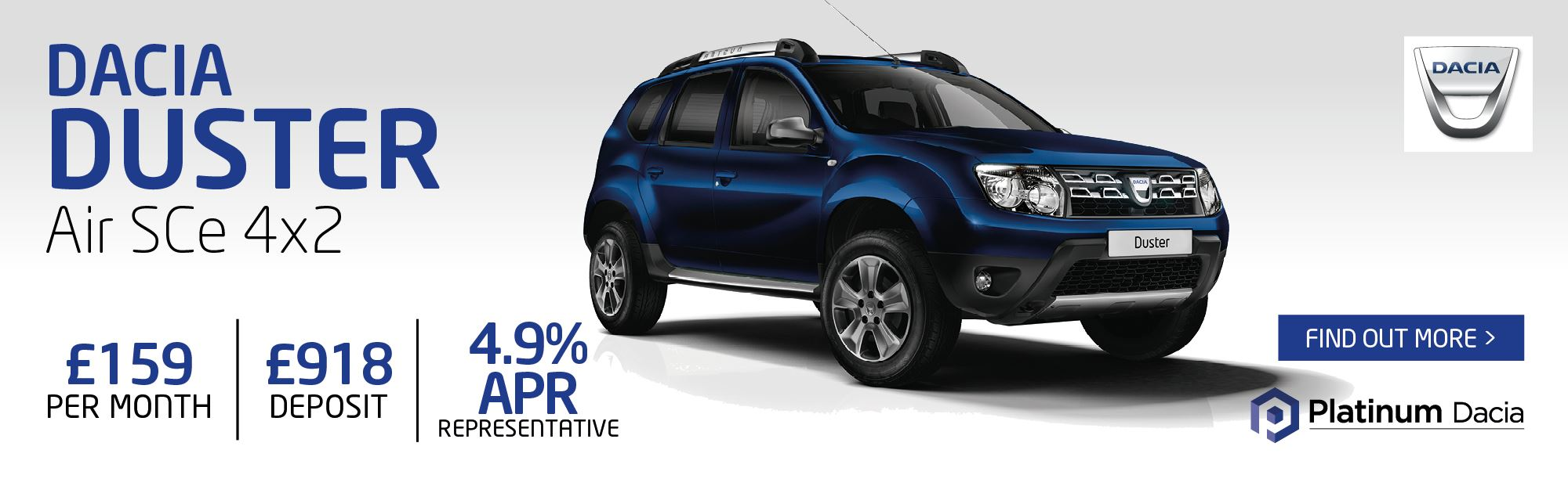 Dacia Duster Offer