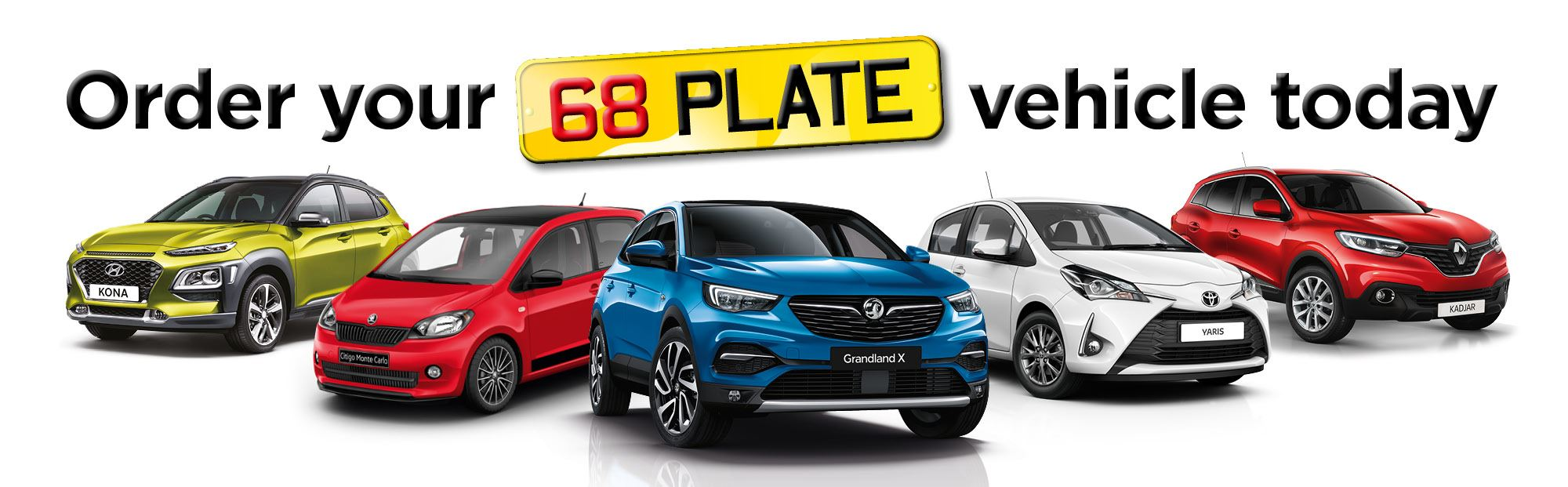 68 Plate Cars