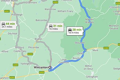 Wincanton to Frome